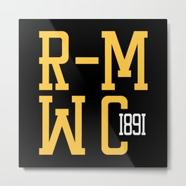 R-MWC (black) Metal Print