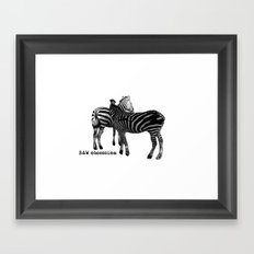 B&W Obsession Framed Art Print