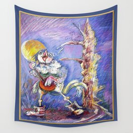 RB.Bird Play Wall Tapestry