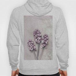 Delicate Hyacinths Hoody