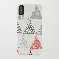 triangle iPhone & iPod Cases featuring Triangle by samedia