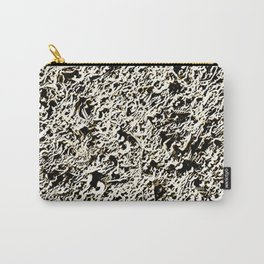 Relief Pattern Abstract Carry-All Pouch
