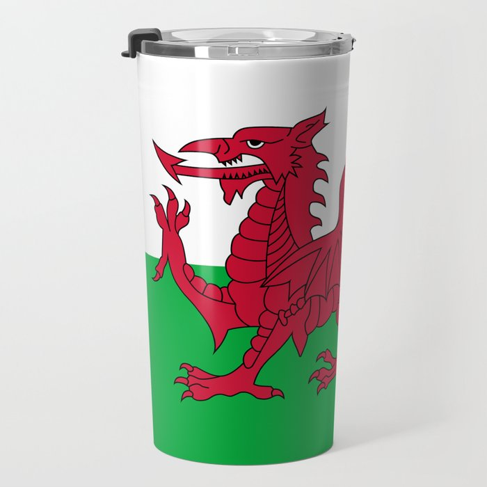 National flag of Wales - Authentic version Travel Mug