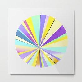 pastel sun Metal Print