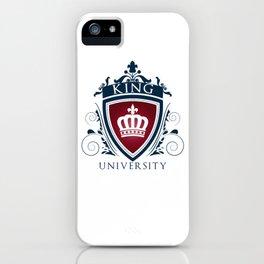 King University iPhone Case