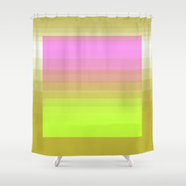 butterscotch. fade. 2019m Shower Curtain