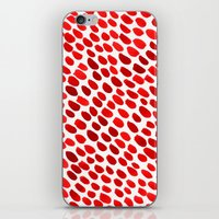 pomegranate iPhone & iPod Skins featuring Pomegranate by Hye Jin Chung