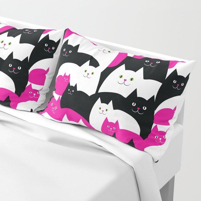 Fat Cats Pillow Sham