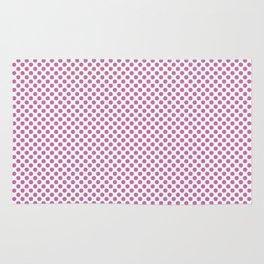 Super Pink Polka Dots Rug