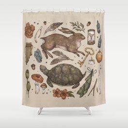 Myth Shower Curtain