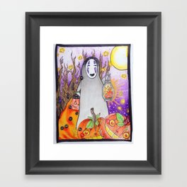 trick or treat!? Framed Art Print