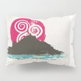 St Michael's Mount, (Karrek Loos yn Koos, the Mount) Cornwall, England  Pillow Sham