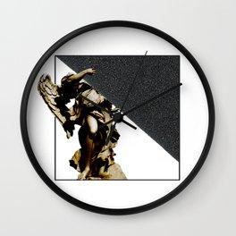 SILKINESS  -   V.white Wall Clock