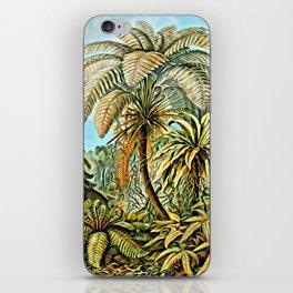 TROPICAL JUNGLE-Ernst Haeckel iPhone Skin
