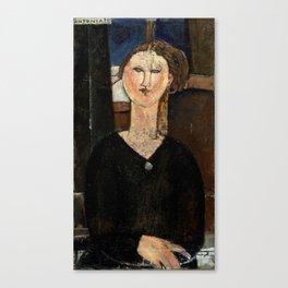 "Amedeo Modigliani ""Antonia"" Canvas Print"