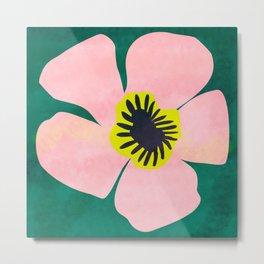 Pink Bloom No 01 Metal Print