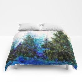 BLUE MOUNTAIN PINE FOREST  VISTA Comforters