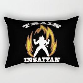 Train insaiyan Rectangular Pillow