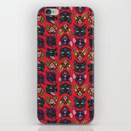 Bats! Cats! Rats! iPhone Skin