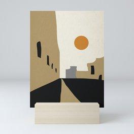 street-Abstract Mini Art Print