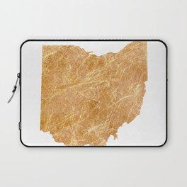 Gold Ohio Laptop Sleeve