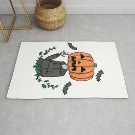 Cool Pumpkin Rug