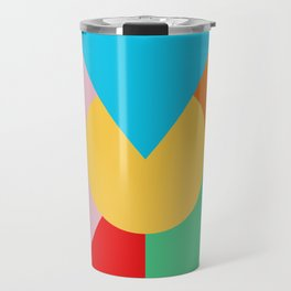 Circle Series - Summer Palette No. 3 Travel Mug