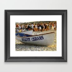 Harvey Cedars, NJ Framed Art Print