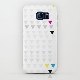 Poster Triangles iPhone Case