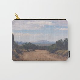 Down Desert Roads Carry-All Pouch