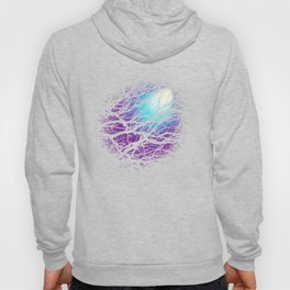lights in the forest Hoody
