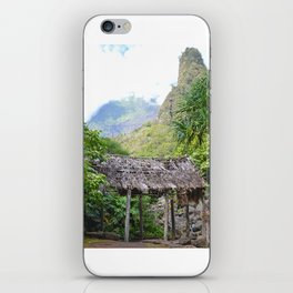 Ioa Valley, Maui iPhone Skin