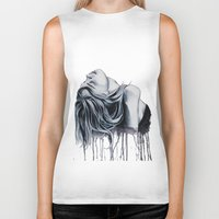 cara delevingne Biker Tanks featuring Cara Delevingne by Asquared2Art