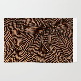 Rustic Triangles Rug