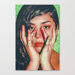 Warholl  Vibez Canvas Print