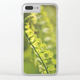 AFE Fern Clear iPhone Case