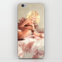 Satin & Lace iPhone Skin