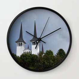 The Two Kingdoms Wall Clock