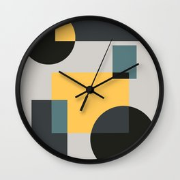 Abstract #4 Wall Clock