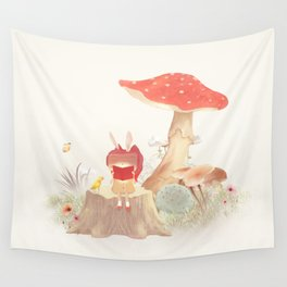 Silent Poetry Wall Tapestry