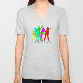 TPoH: Colourful Personality Unisex V-Neck