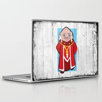dungeons and dragons Laptop & iPad Skins featuring DUNGEONS & DRAGONS - DUNGEON MASTER by Zorio