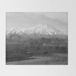 Mt McKinley Throw Blanket