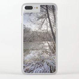 Sunrise across the Pond Clear iPhone Case