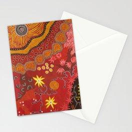 Aboriginal summer Stationery Cards