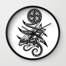 Shoulder Band Tattoo Wall Clock