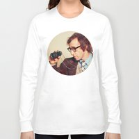 woody allen Long Sleeve T-shirts featuring WOODY ALLEN by VAGABOND