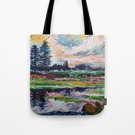 Waterlogged Tote Bag