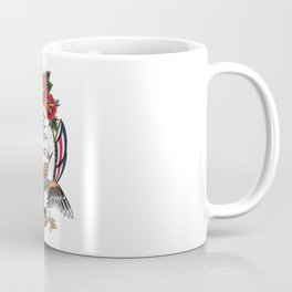 Eagle & Ship Traditional Tattoo Coffee Mug