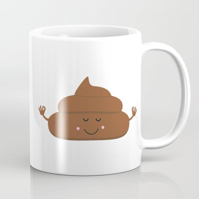 Meditating poo Coffee Mug